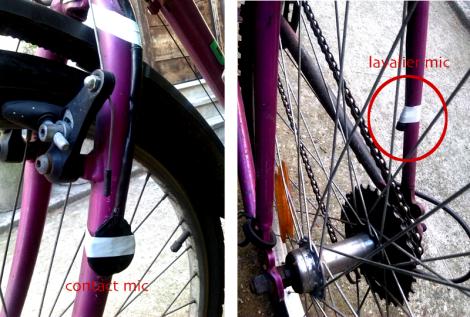 la mia fedele bici verrà preparata più o meno in questo modo