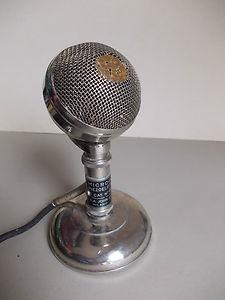 """vecchio microfono piezoelettrico della """"Geloso"""""""