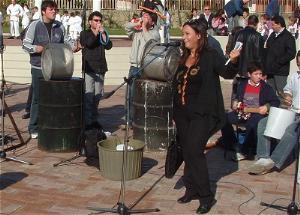 a Villaricca (NA) nel 2006. Ci sono anche io con la trombetta DIY